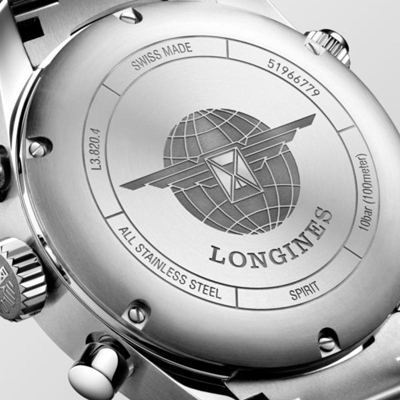 LONGINES SPIRIT CRONOGRAFO 42 MM REF. L3.820.4.73.6