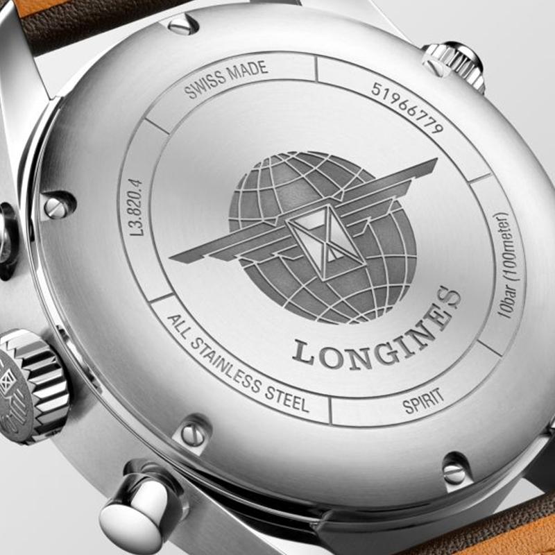 LONGINES SPIRIT CRONOGRAFO 42 MM REF. L3.820.4.53.0