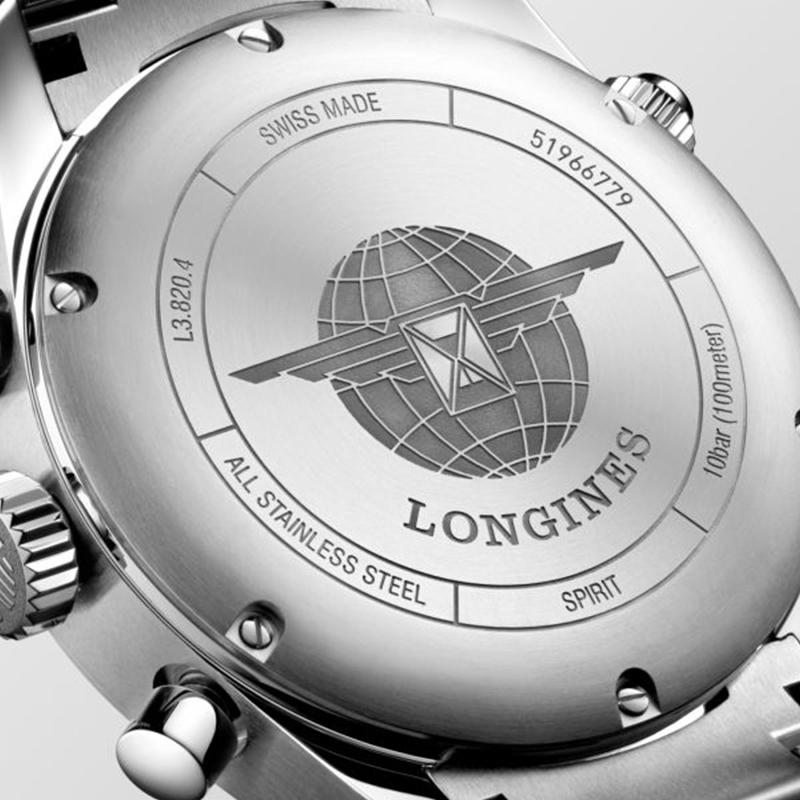 LONGINES SPIRIT CRONOGRAFO 42 MM REF. L3.820.4.93.6