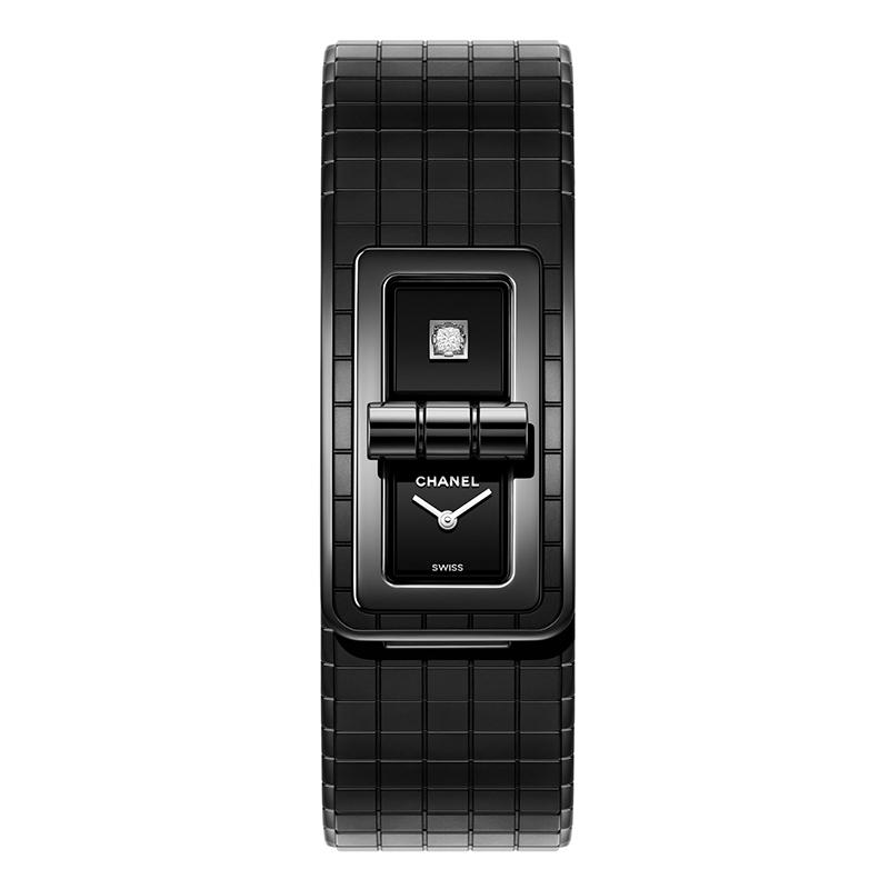CHANEL CODE COCO So Black 21,5X38,1 MM REF. H6426